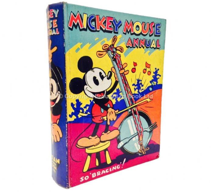 Mickey Mouse Annual 1935 Dean & Son Ltd 1934